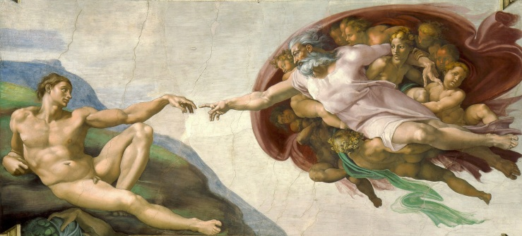 Michelangelo_-_Creation_of_Adam_(cropped)